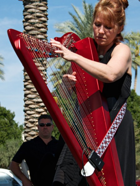 VeeRonna – Los Angeles Harpist for Weddings, Cocktail Parties, and Events
