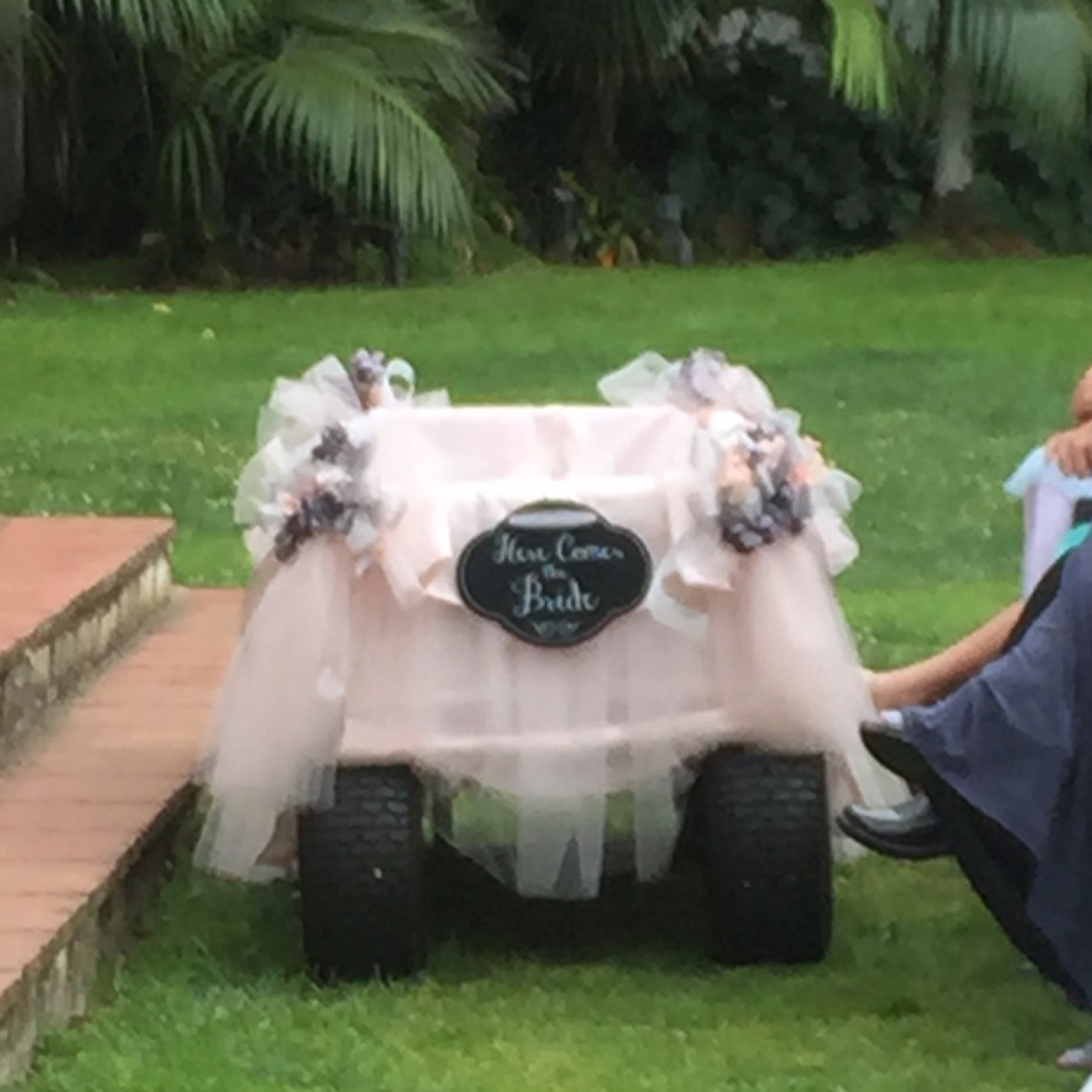 Wedding Baby Wagon