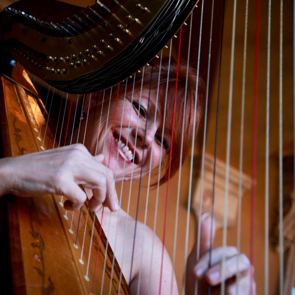 VeeRonna Harpist