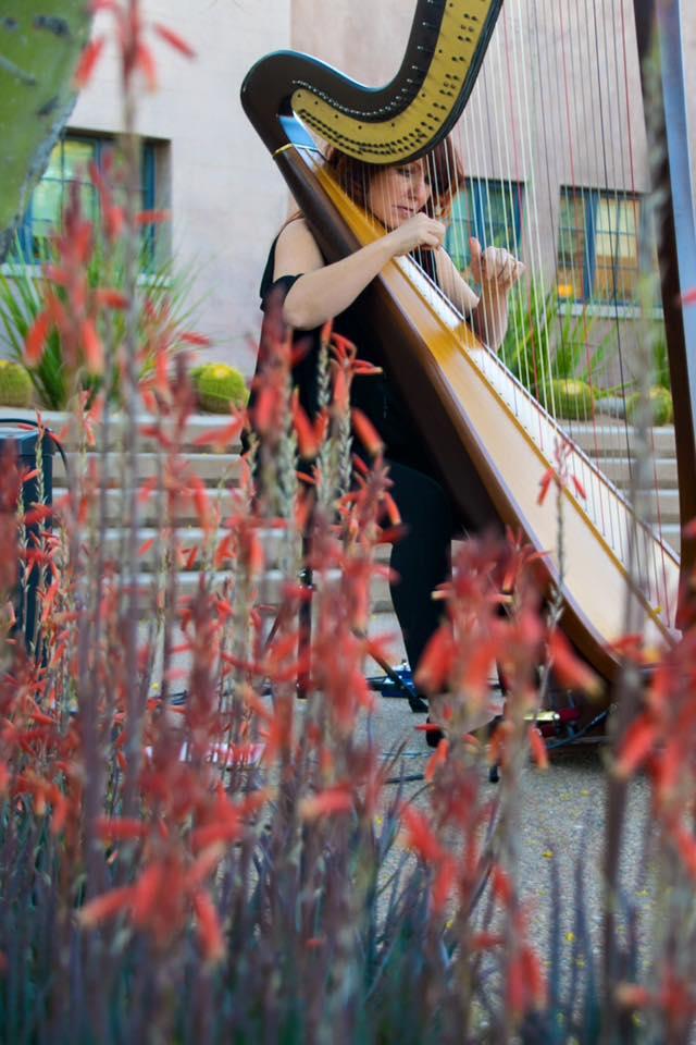 Desert Botanical Garden Harpist