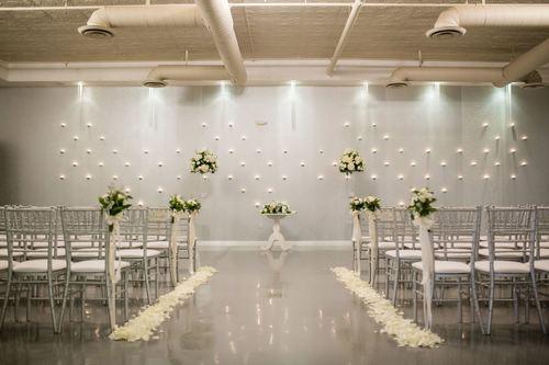 "SoHo63 Wedding Ceremony Room - ""The Plaza"""